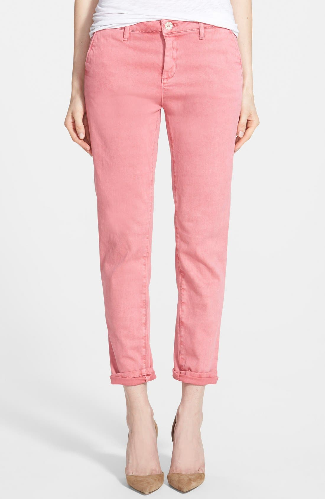 'Iris' Relaxed Trousers, Main, color, 950