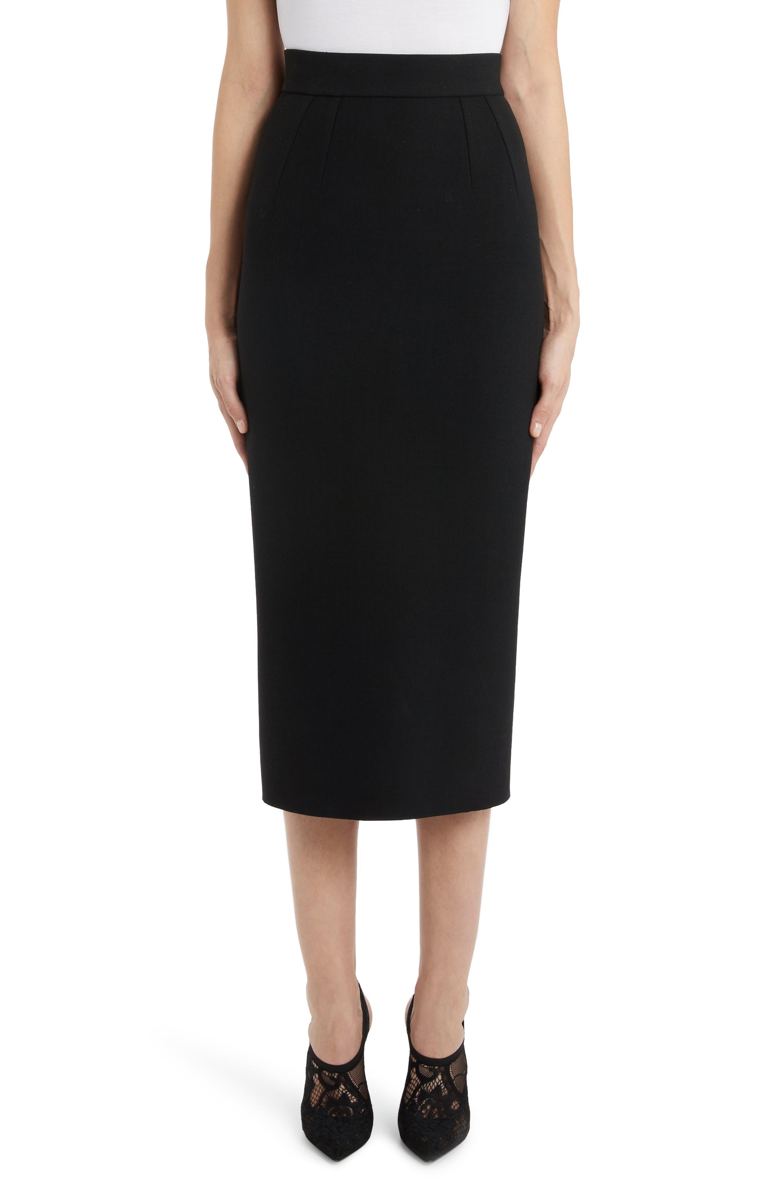 Dolce&gabbana Skirts Midi Pencil Skirt