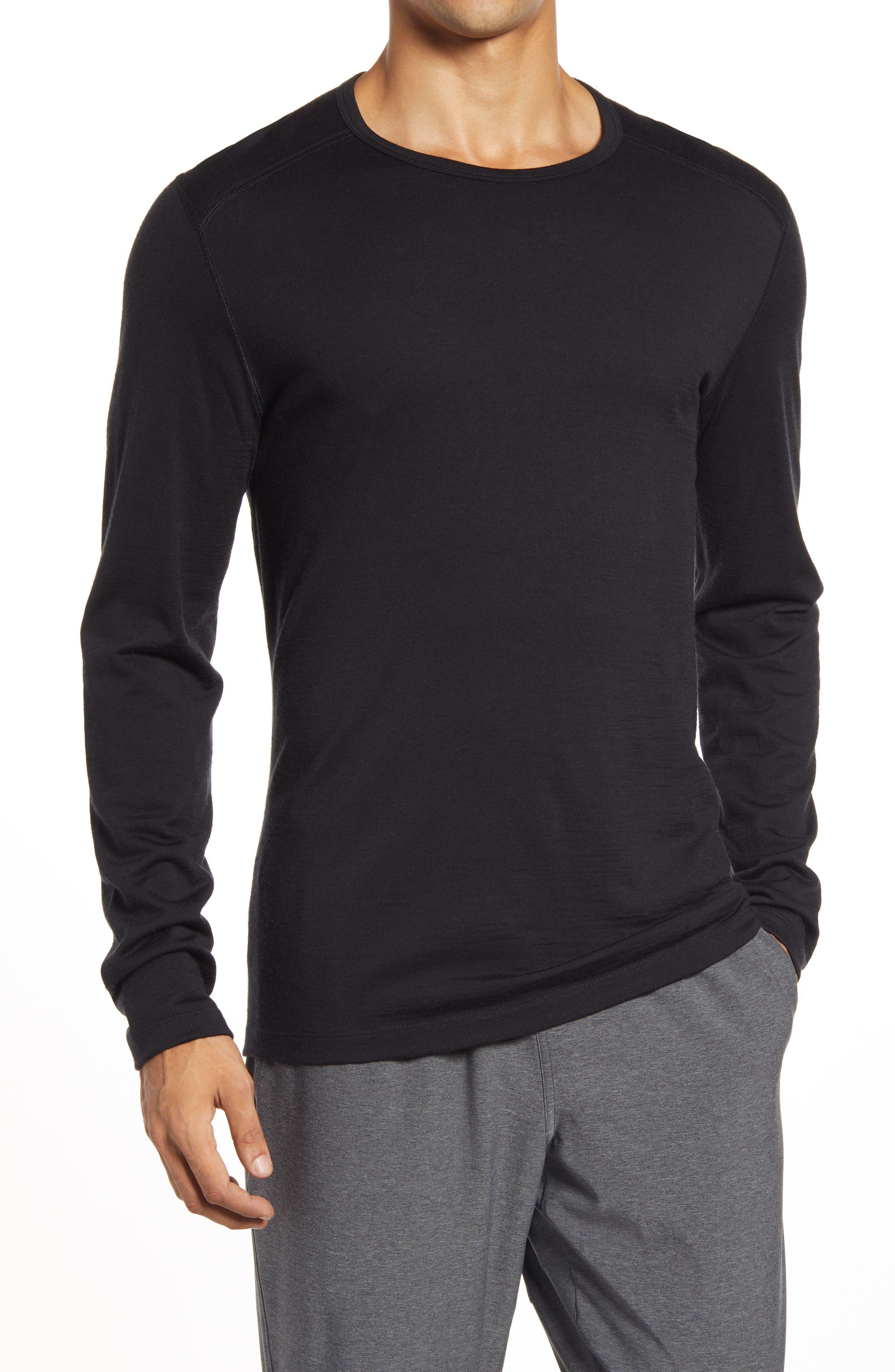 Oasis Long Sleeve Merino Wool Base Layer T-Shirt