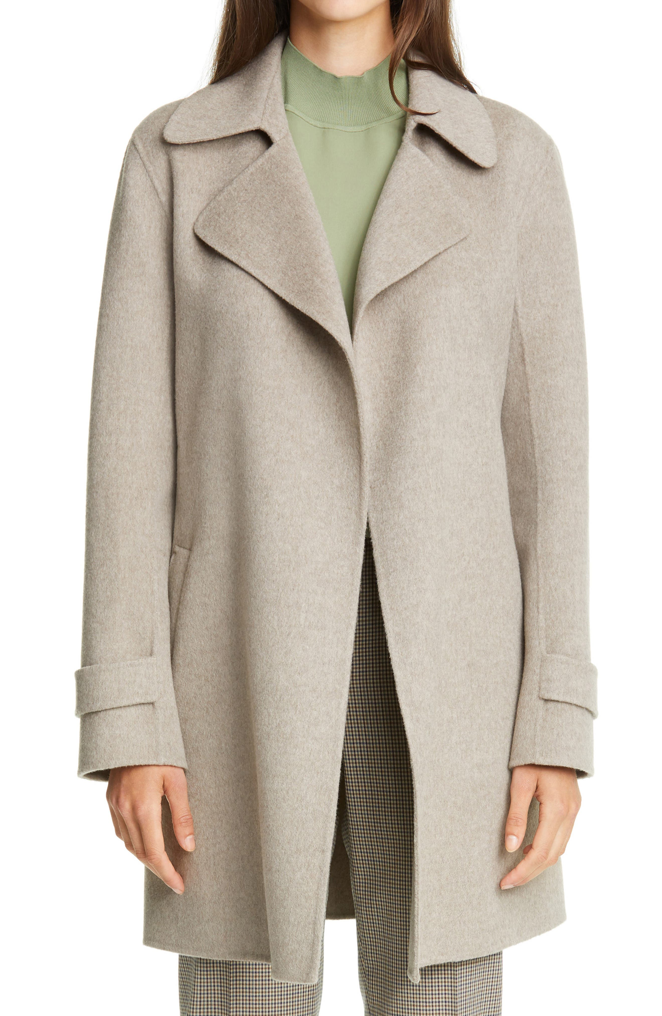 Theory Oaklane Wool & Cashmere Trench Coat | Nordstrom
