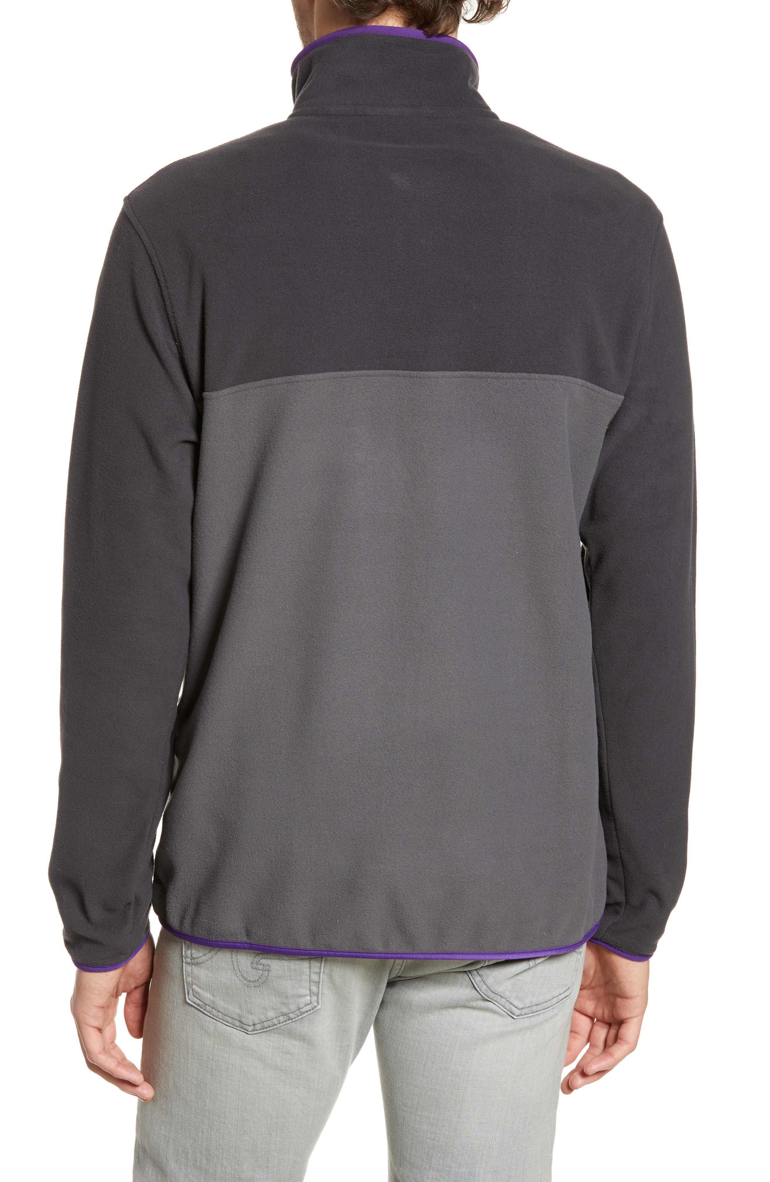 ,                             Micro-D<sup>®</sup> Snap-T<sup>®</sup> Fleece Pullover,                             Alternate thumbnail 2, color,                             FORGE GREY