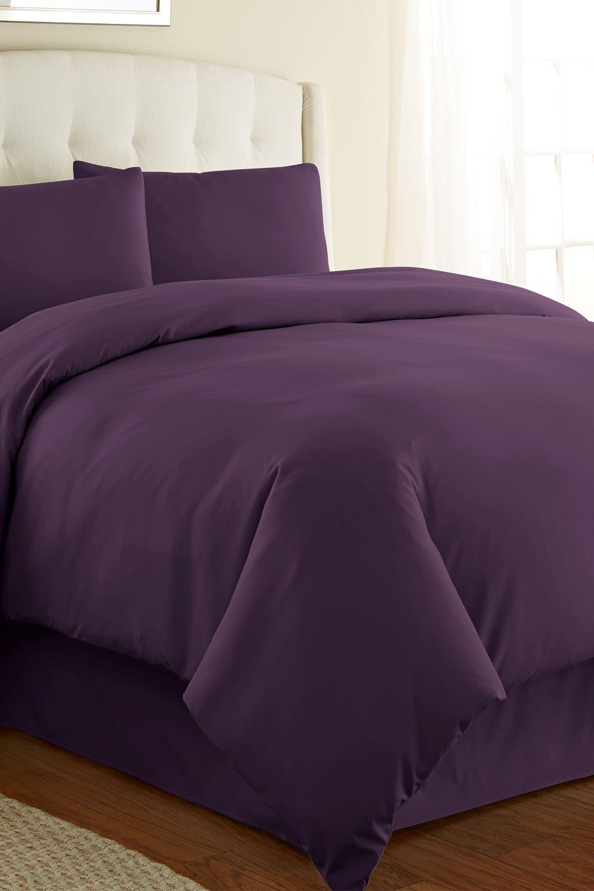 Image of SOUTHSHORE FINE LINENS King/California King Southshore Fine Linens Vilano Springs Duvet Cover Sets - Purple