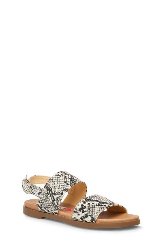 Steve Madden Kids' Jdarcy Slingback Sandal In Snake