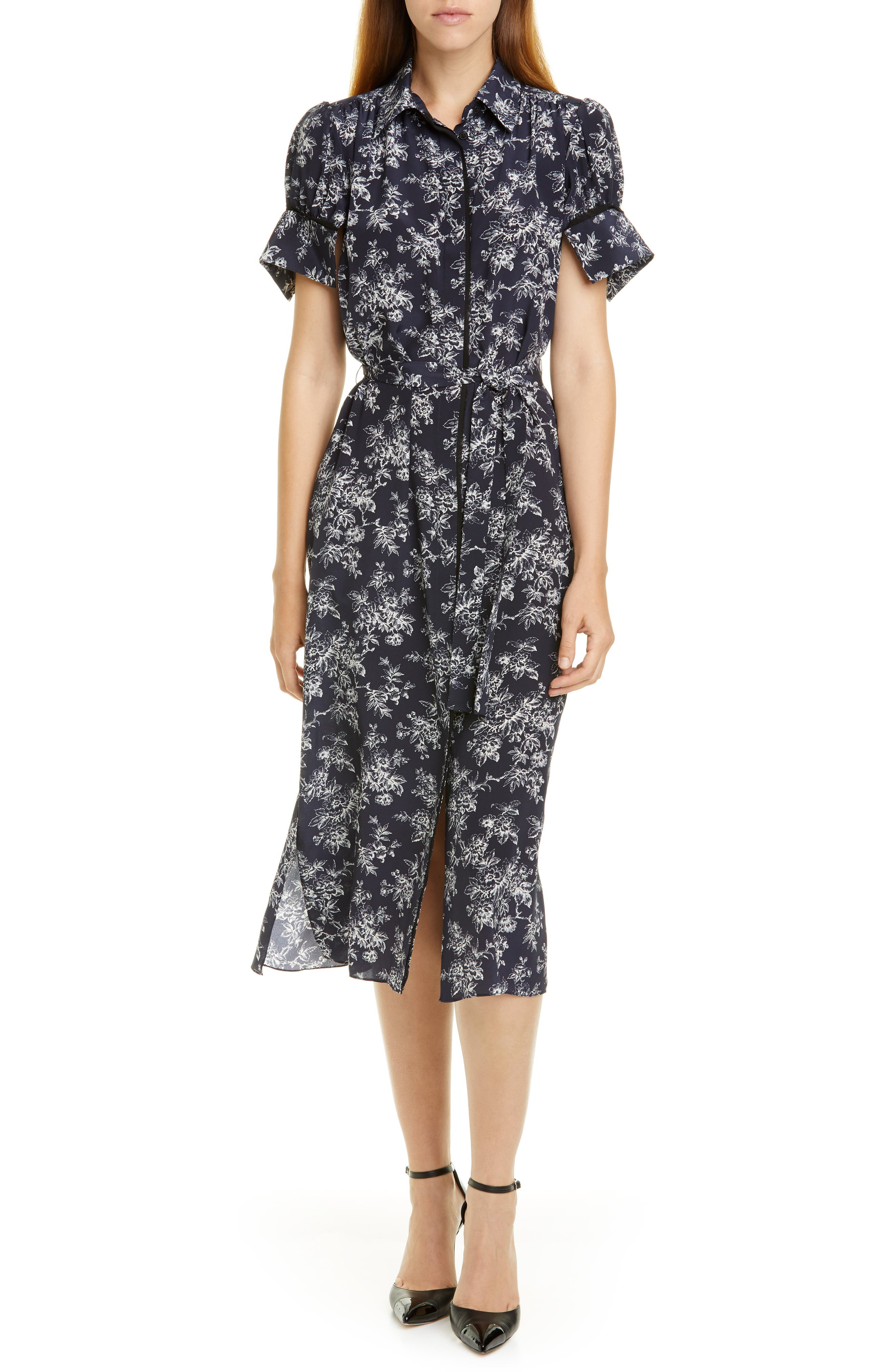 Jason Wu Dresses Floral Shirtdress
