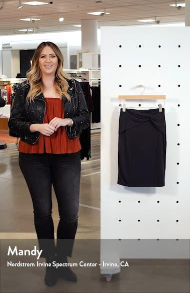 Knot Detail Skirt, sales video thumbnail