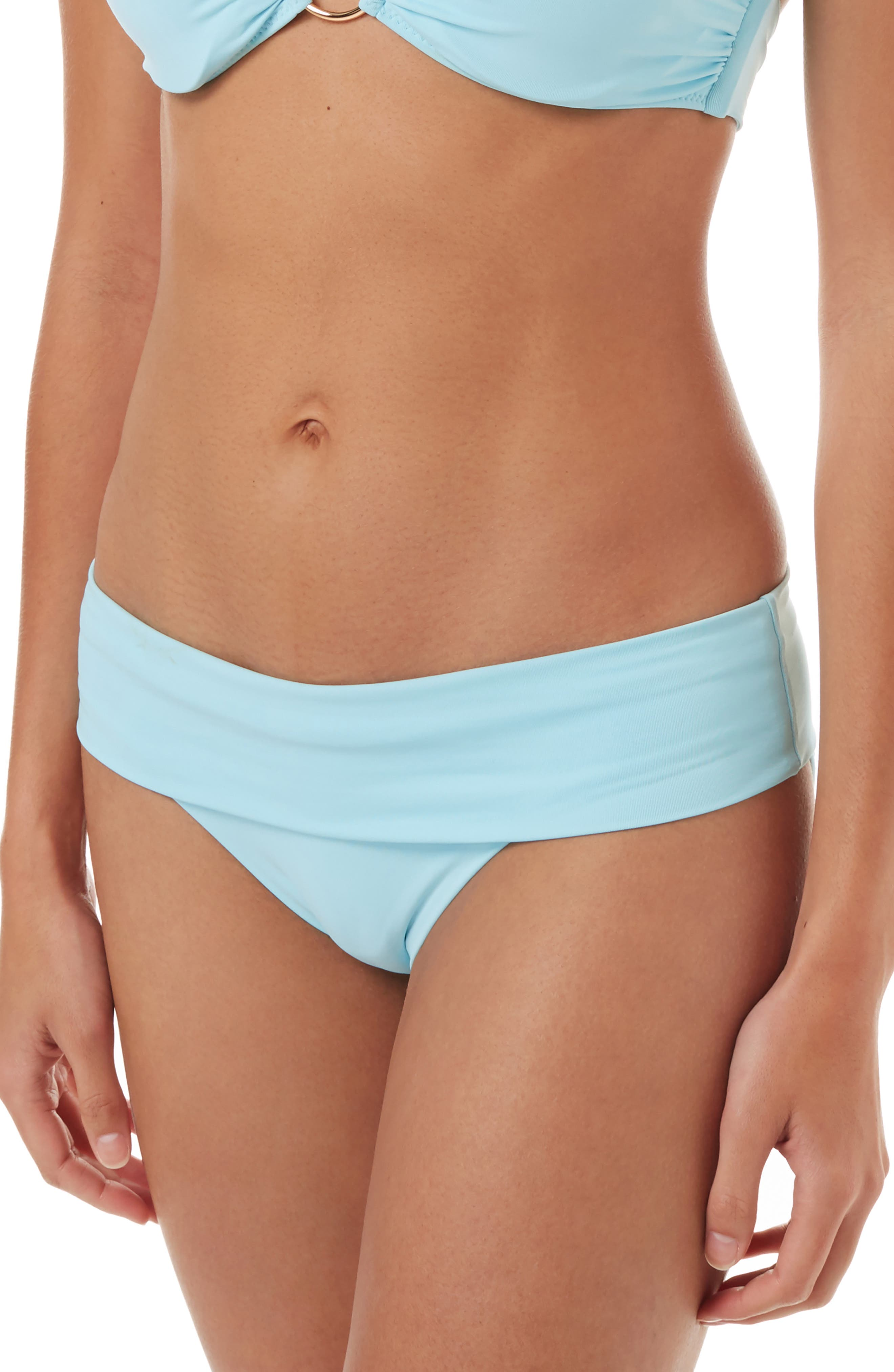 Melissa Odabash Brussels Bikini Bottoms, Blue