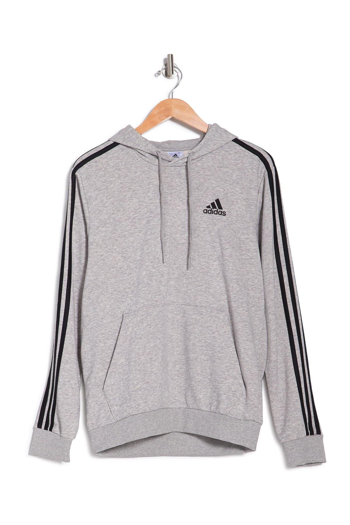 Adidas Originals Cottons ESSENTIALS 3 STRIPES HOODIE