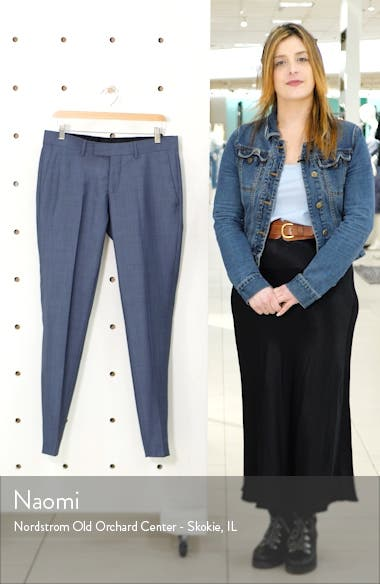 Tordon Flat Front Solid Wool Trousers, sales video thumbnail