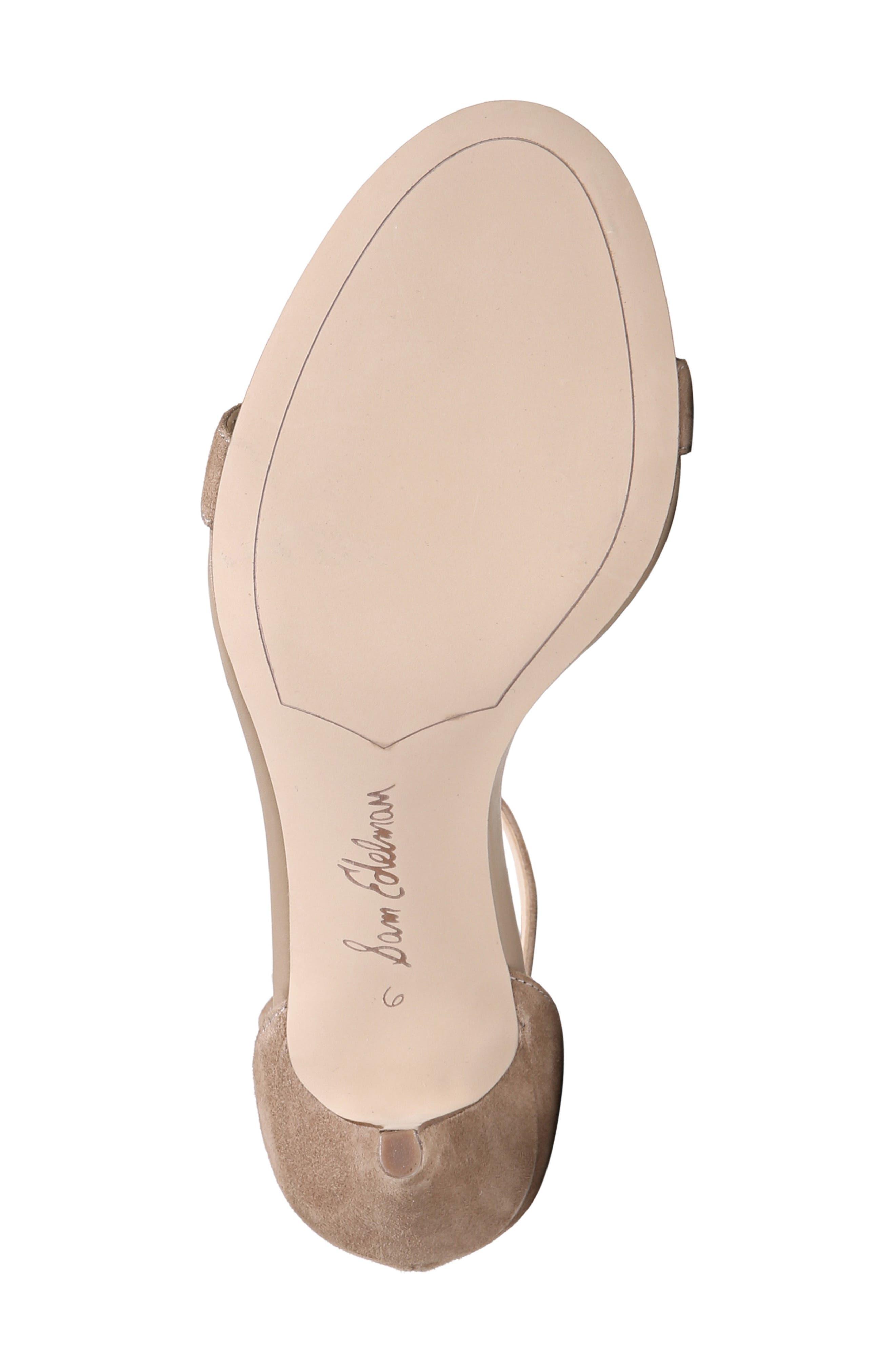,                             'Patti' Ankle Strap Sandal,                             Alternate thumbnail 93, color,                             254