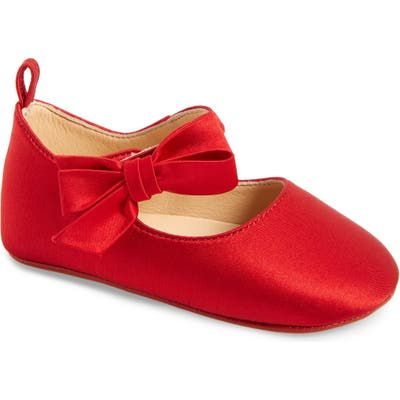 Christian Louboutin Lou Babe Mary Jane, Red (Baby) (Nordstrom Exclusive)