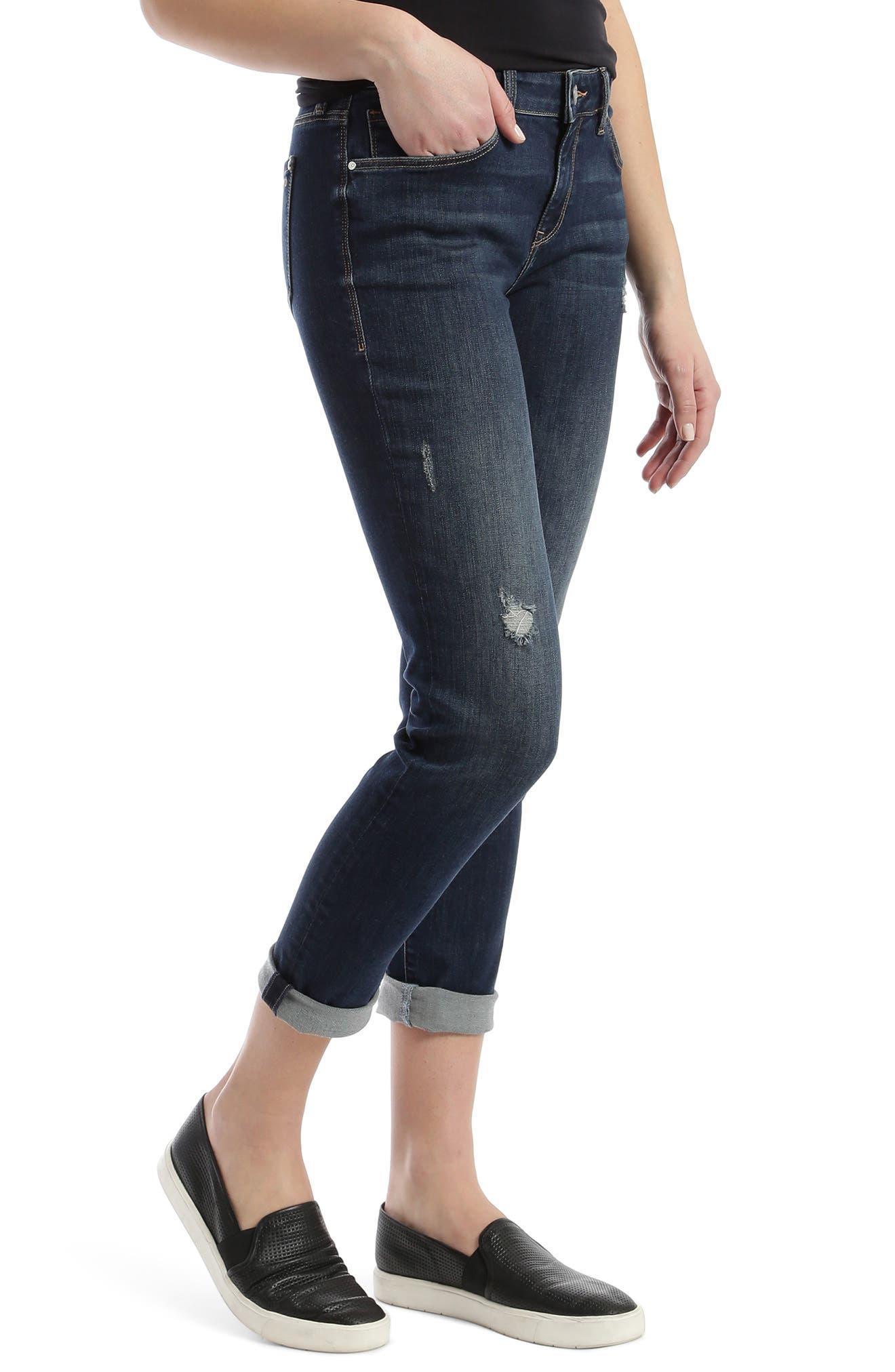 Ada Distressed Boyfriend Jeans