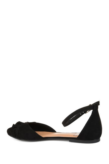 Image of JOURNEE Collection Lazae Ankle Strap Flat