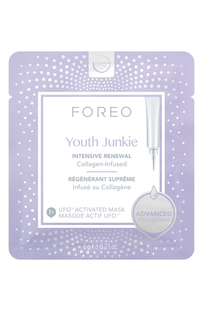 FOREO Youth Junkie UFO<sup>™</sup> Activated Mask, Main, color, NO COLOR