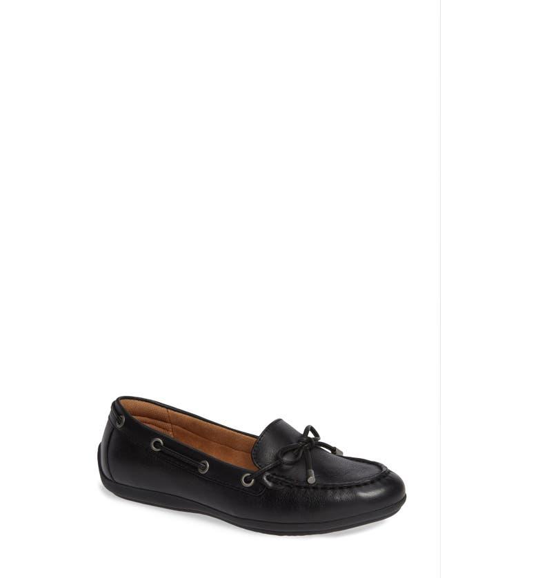 COMFORTIVA Mindy Loafer, Main, color, BLACK