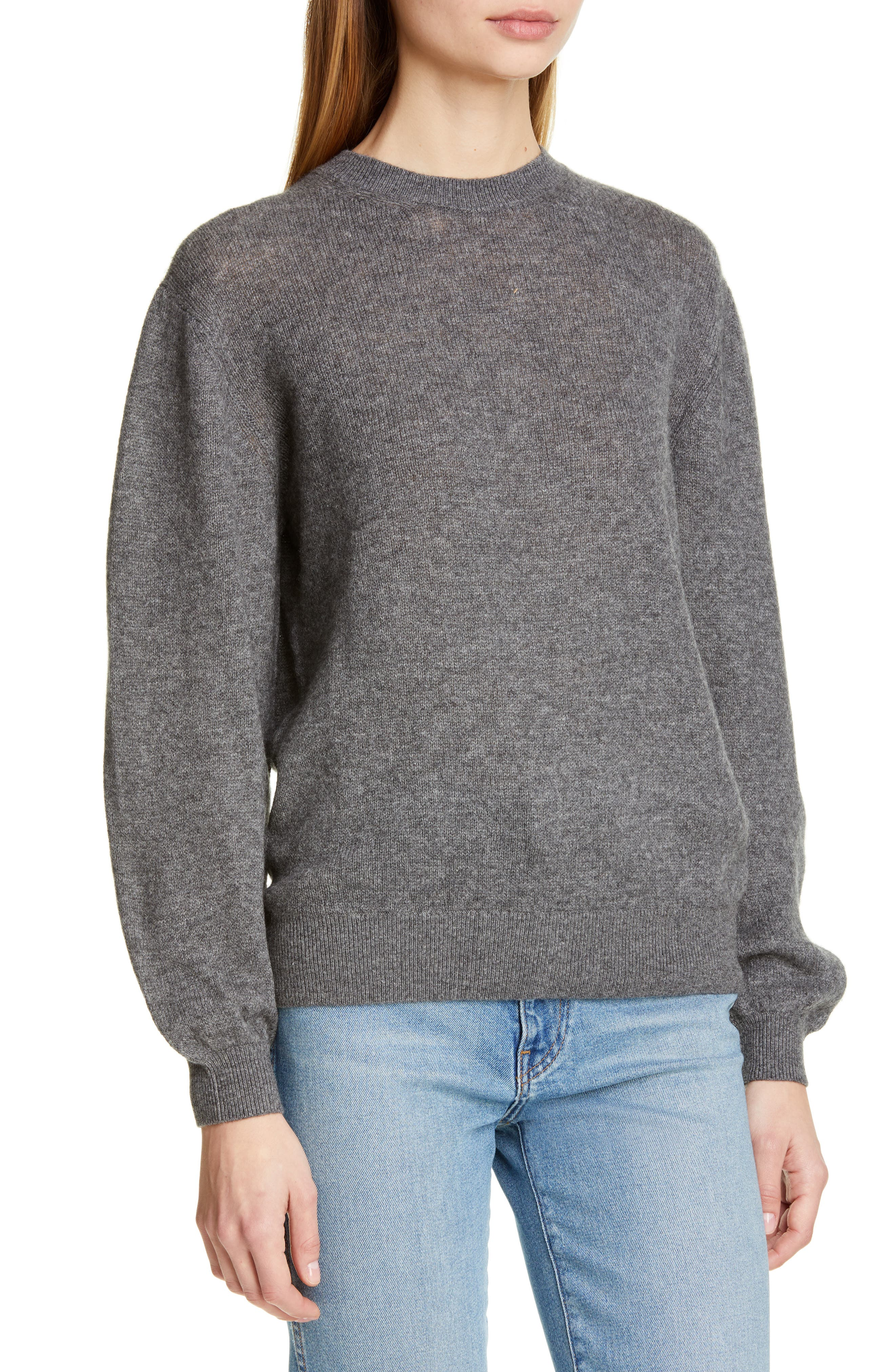 ,                             Viola Cashmere Sweater,                             Alternate thumbnail 5, color,                             GREY