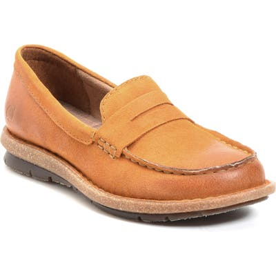 B?rn Tok Water Resistant Penny Loafer, Yellow