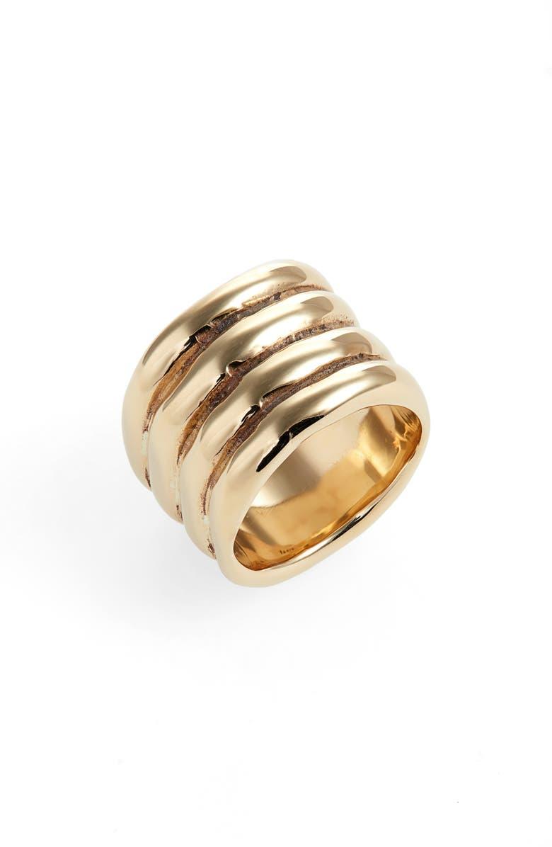 FARIS Statement Ring, Main, color, BRONZE