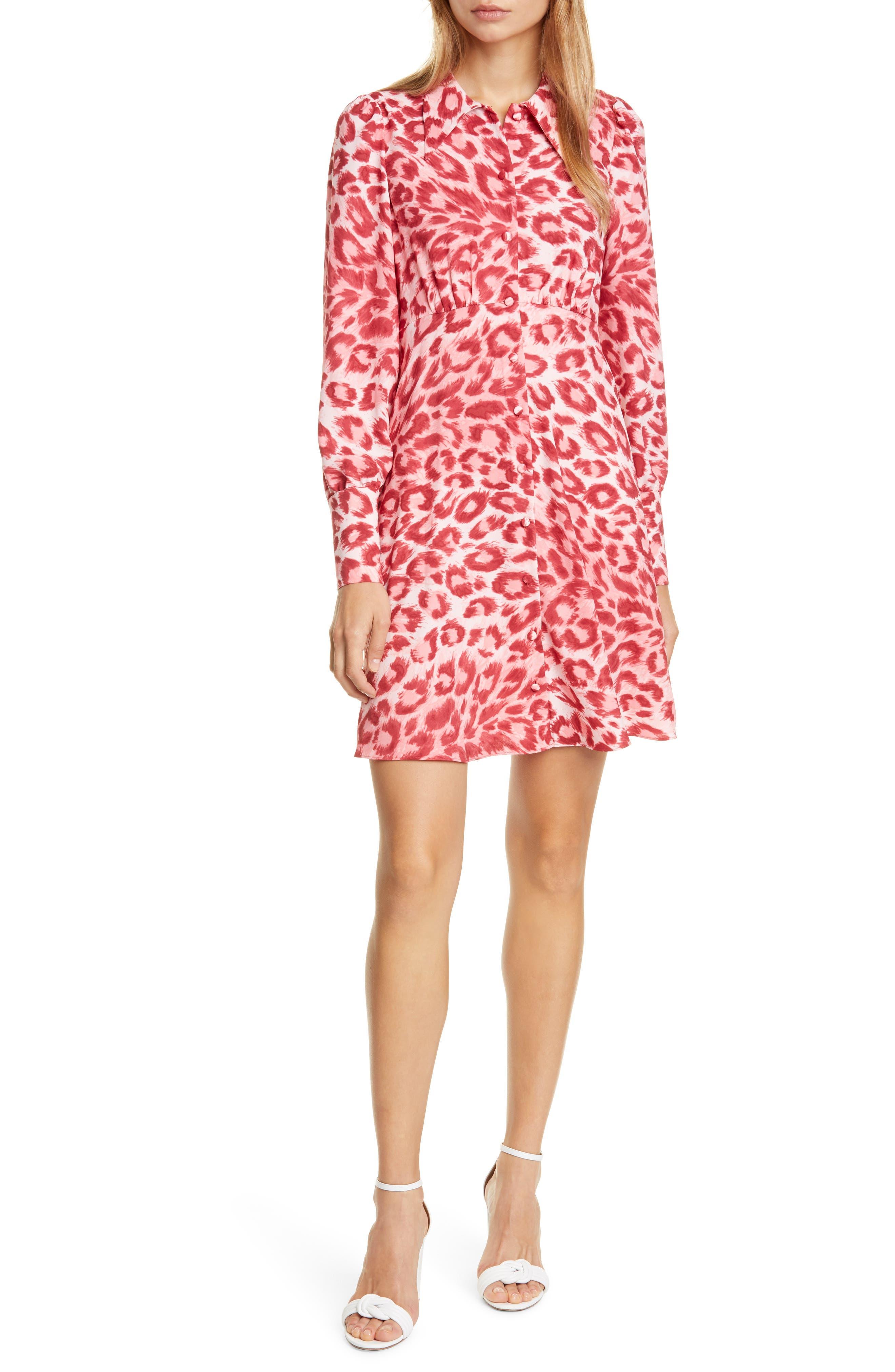 Kate Spade New York Dresses panthera long sleeve shirtdress