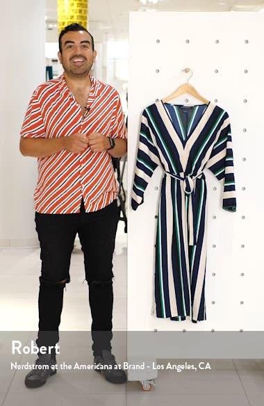 Multi Stripe V-Neck Dress, sales video thumbnail