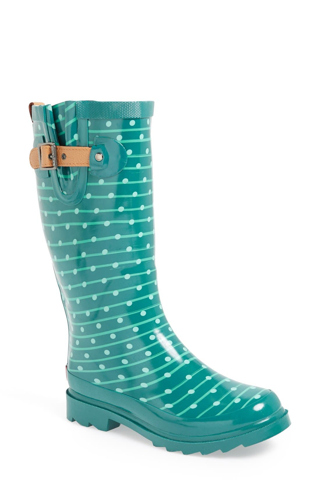 ,                             'Top Solid' Rain Boot,                             Main thumbnail 88, color,                             444