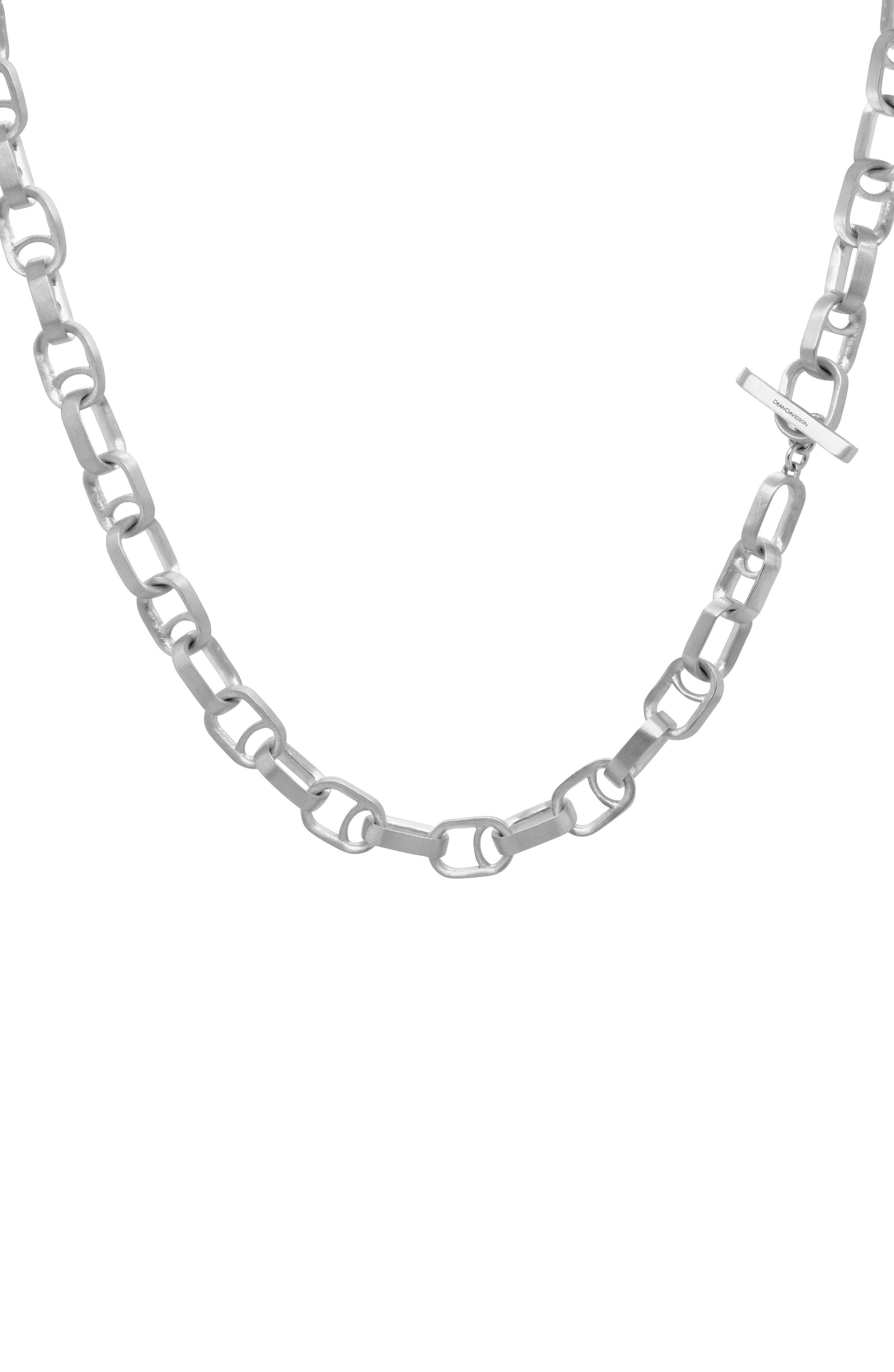 Manhattan Chain Link Necklace