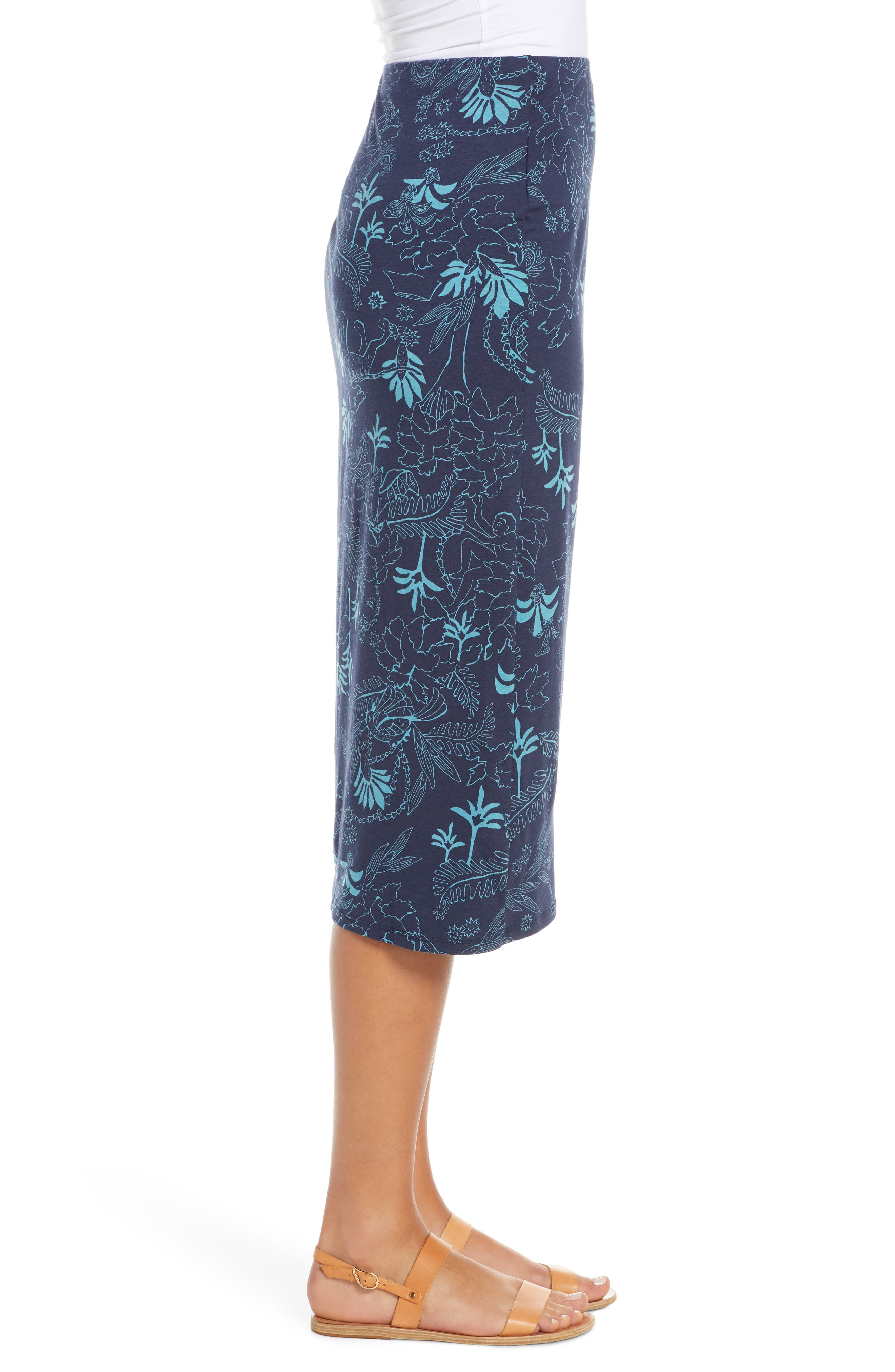 ,                             Dream Song Skirt,                             Alternate thumbnail 4, color,                             BEYOND EXTINCT/ NEO NAVY