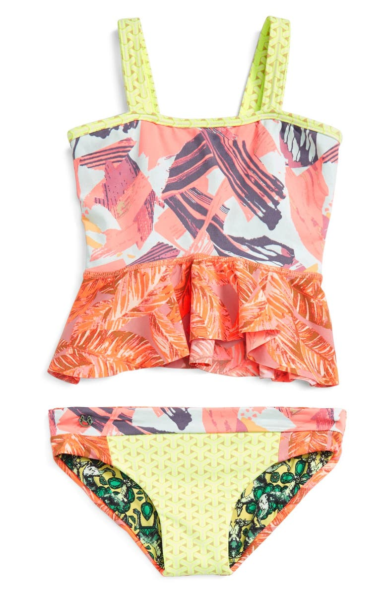 MAAJI 'Oh La La' Two-Piece Reversible Swimsuit, Main, color, 800