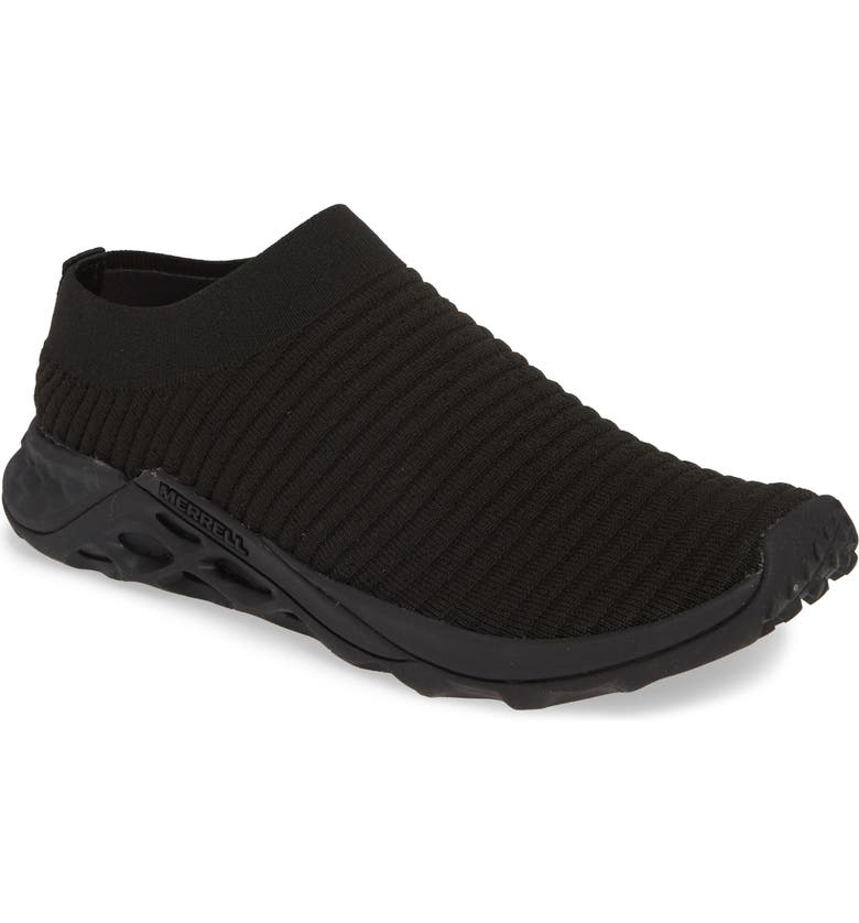 MERRELL Range AC+ Sneaker, Main, color, TRIPLE BLACK FABRIC