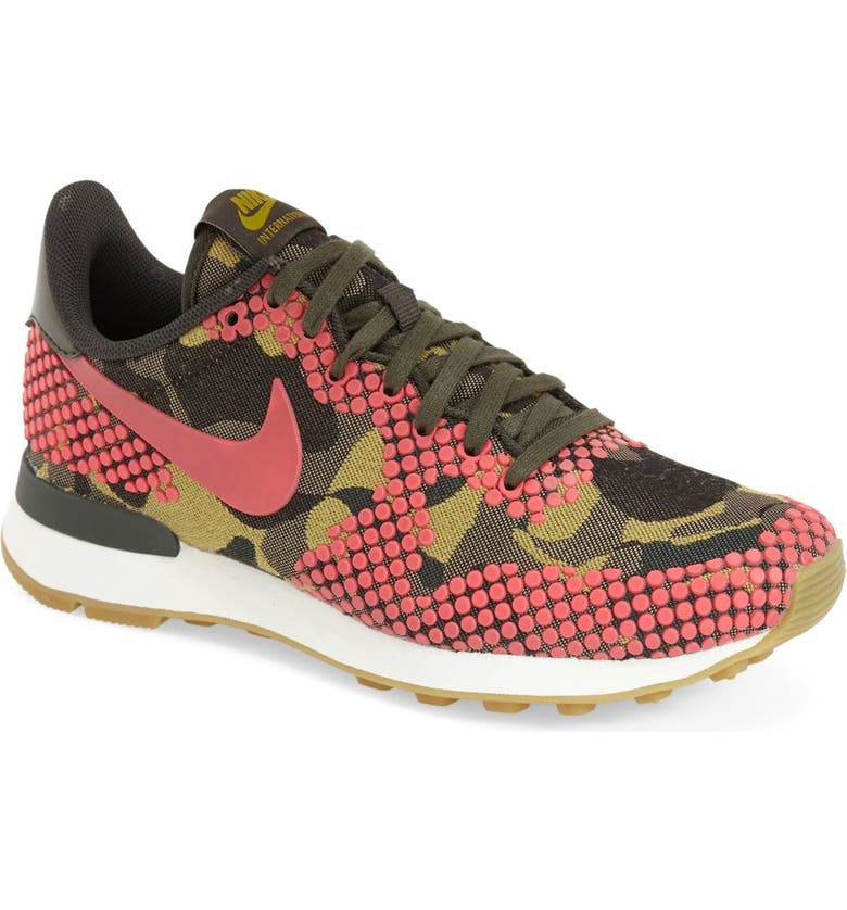 online retailer look good shoes sale promo codes Nike 'Internationalist' Print Sneaker (Women)   Nordstrom