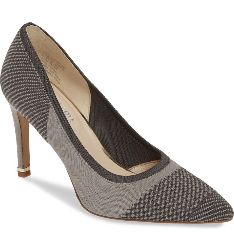 KENNETH COLE NEW YORK Riley 85 Pump, Main, color, GREY MULTI KNIT