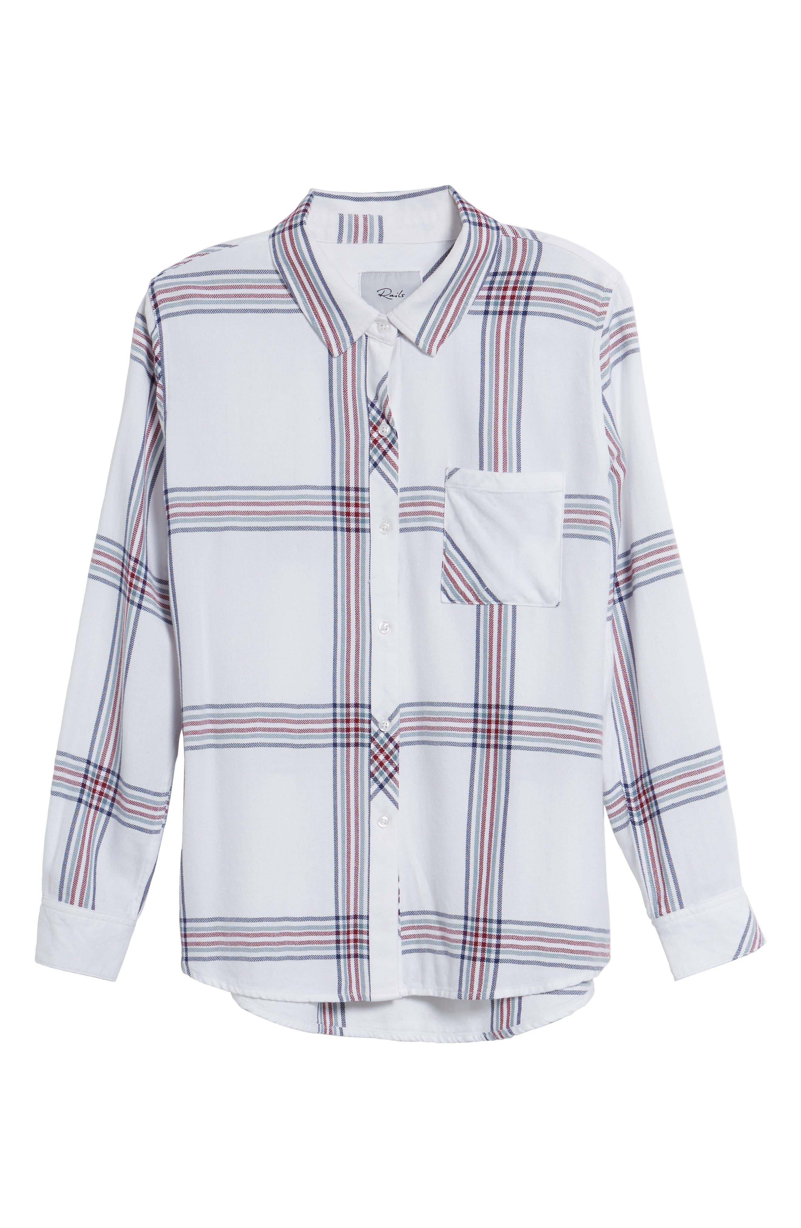 ,                             Hunter Plaid Shirt,                             Alternate thumbnail 569, color,                             101