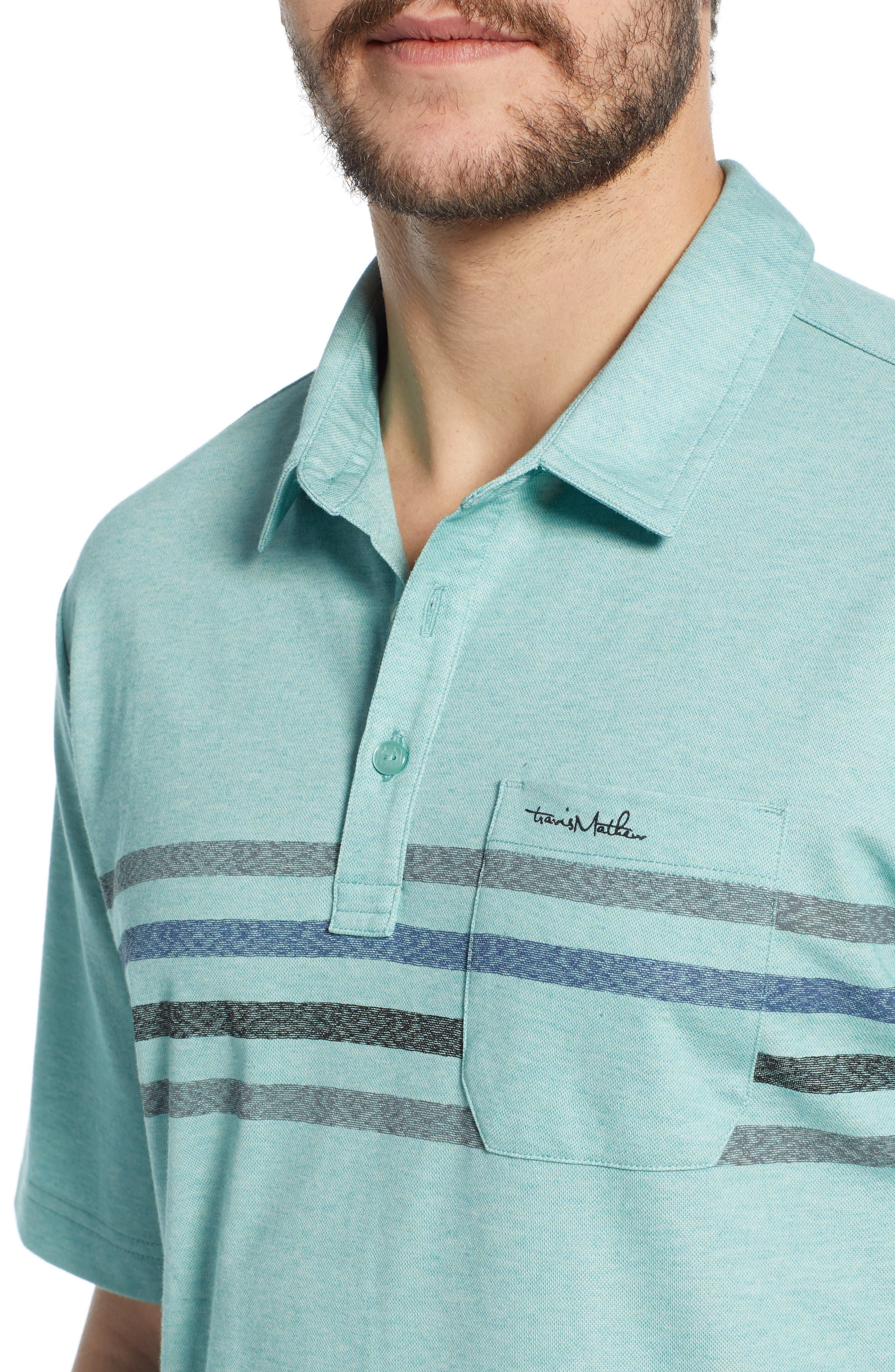 ,                             Oh Snap Regular Fit Performance Polo,                             Alternate thumbnail 4, color,                             HEATHER BERYL GREEN