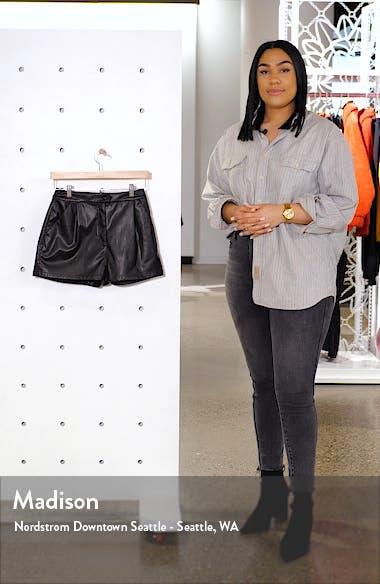 Faux Leather Shorts, sales video thumbnail