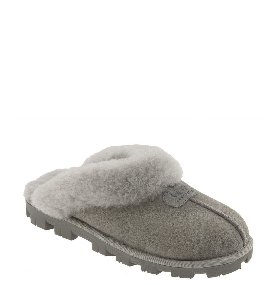 ,                             Genuine Shearling Slipper,                             Main thumbnail 108, color,                             051