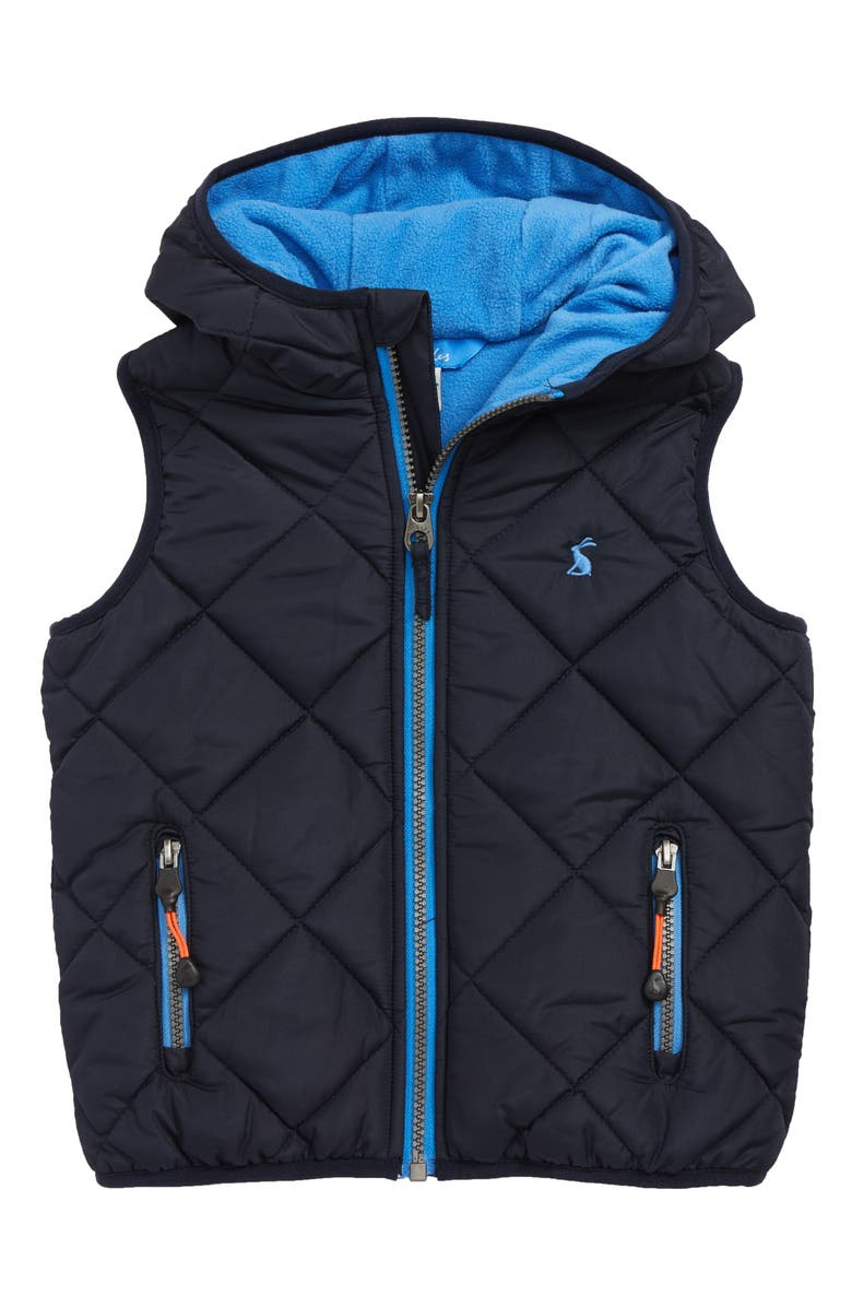 JOULES Jonah Quilted Vest, Main, color, 410