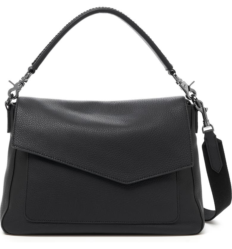 BOTKIER Cobble Hill Leather Hobo, Main, color, 001