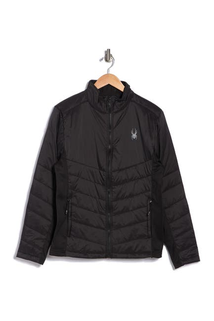 Image of SPYDER Stealth Hybrid Full Zip Jacket