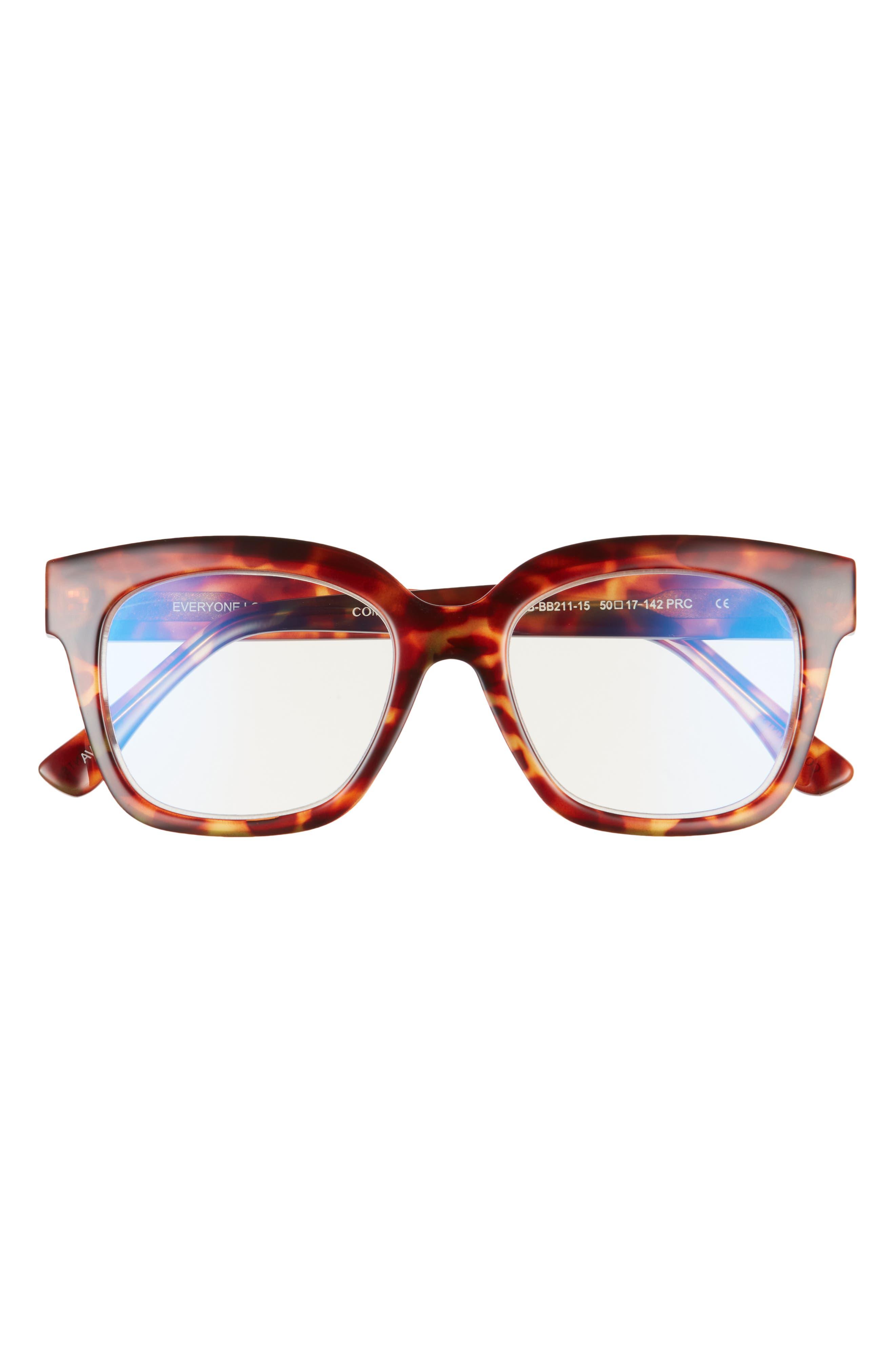 Ava 50mm Small Blue Light Blocking Reading Glasses