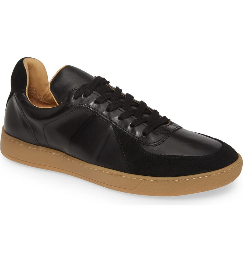 JOHN VARVATOS Star USA Keap Court Low Sneaker, Main, color, BLACK