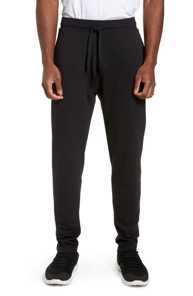 TASC PERFORMANCE Midtown Fleece Pants, Main, color, BLACK