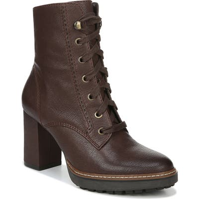 Naturalizer Callie Lace-Up Boot, Brown
