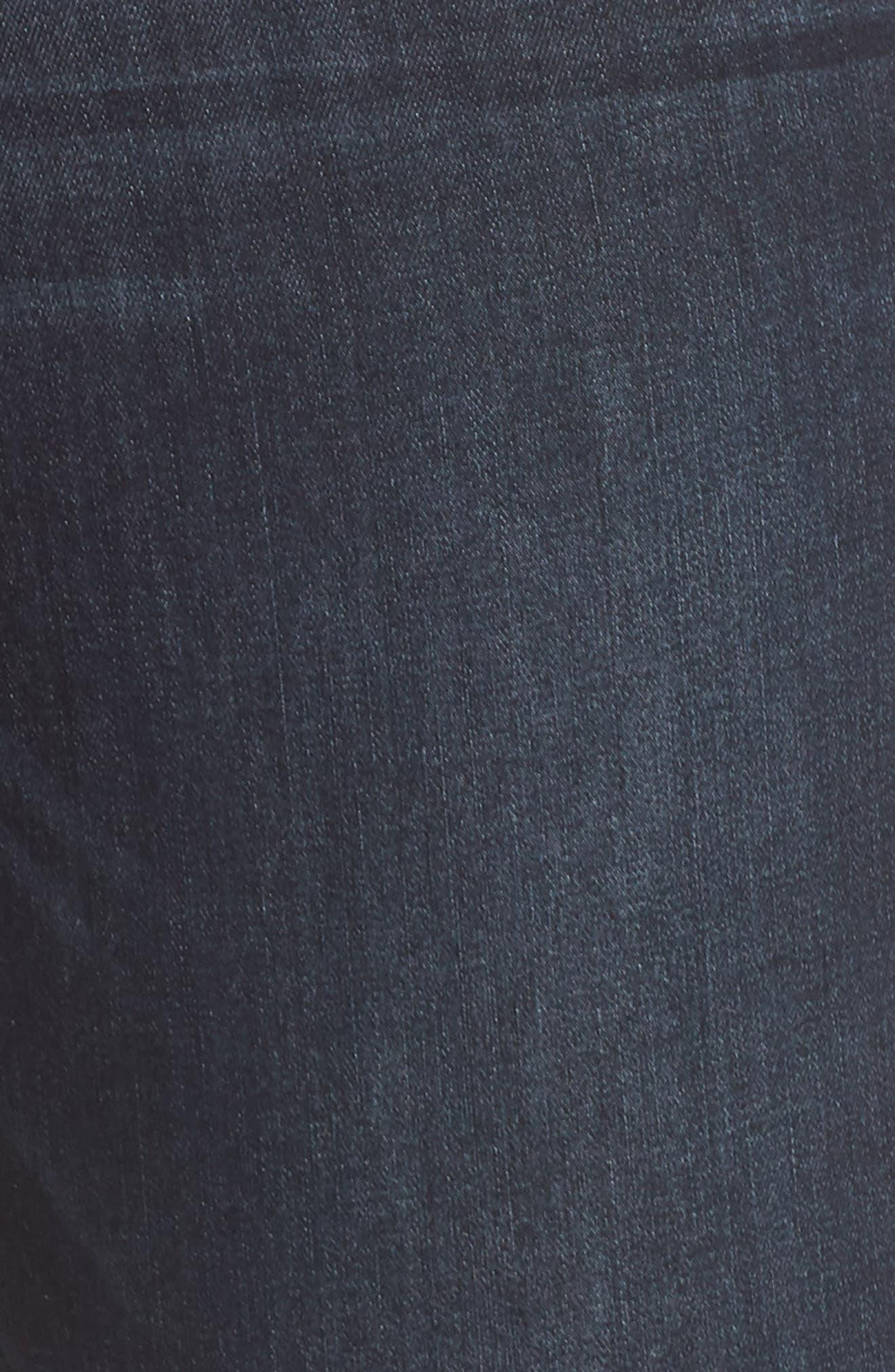 ,                             Ab-Solution High Waist Ankle Skinny Jeans,                             Alternate thumbnail 6, color,                             INDIGO