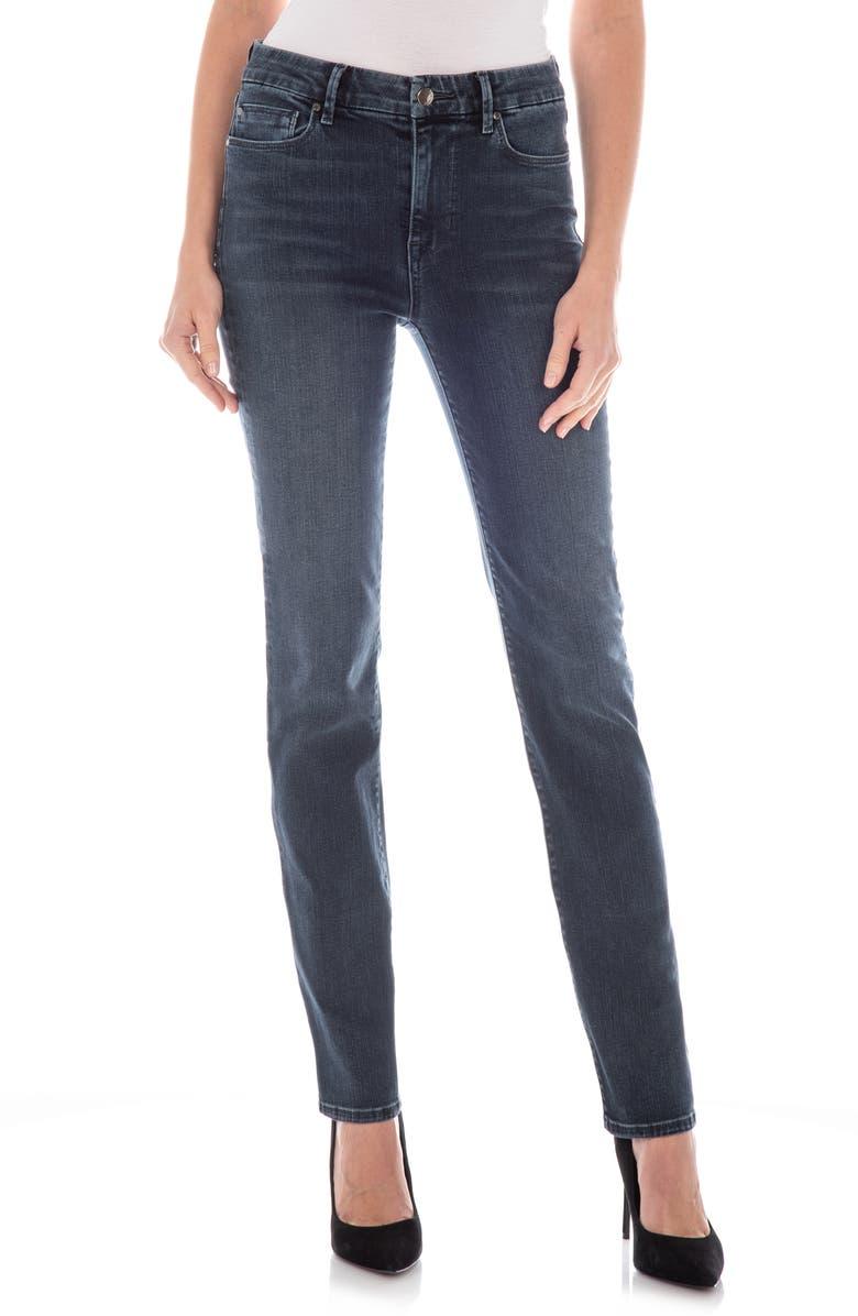 FIDELITY DENIM Gwen High Waist Skinny Jeans, Main, color, GENEVA