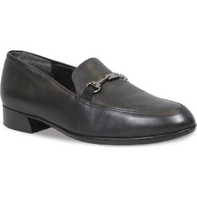 Munro Harrison Ii Bit Loafer, Black