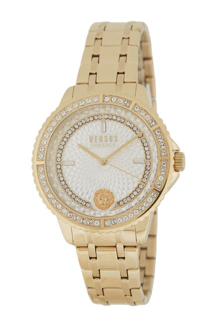 Image of VERSUS Women's Crystal Bracelet Watch, 38mm