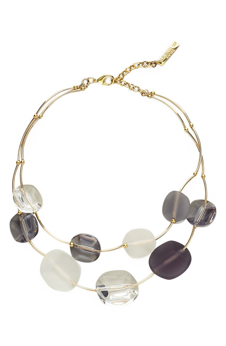 LAFAYETTE 148 NEW YORK Lucite<sup>®</sup> Stone Necklace, Main, color, 020
