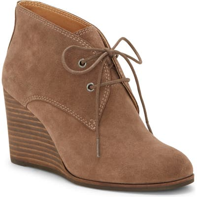 Lucky Brand Shijo Bootie- Brown