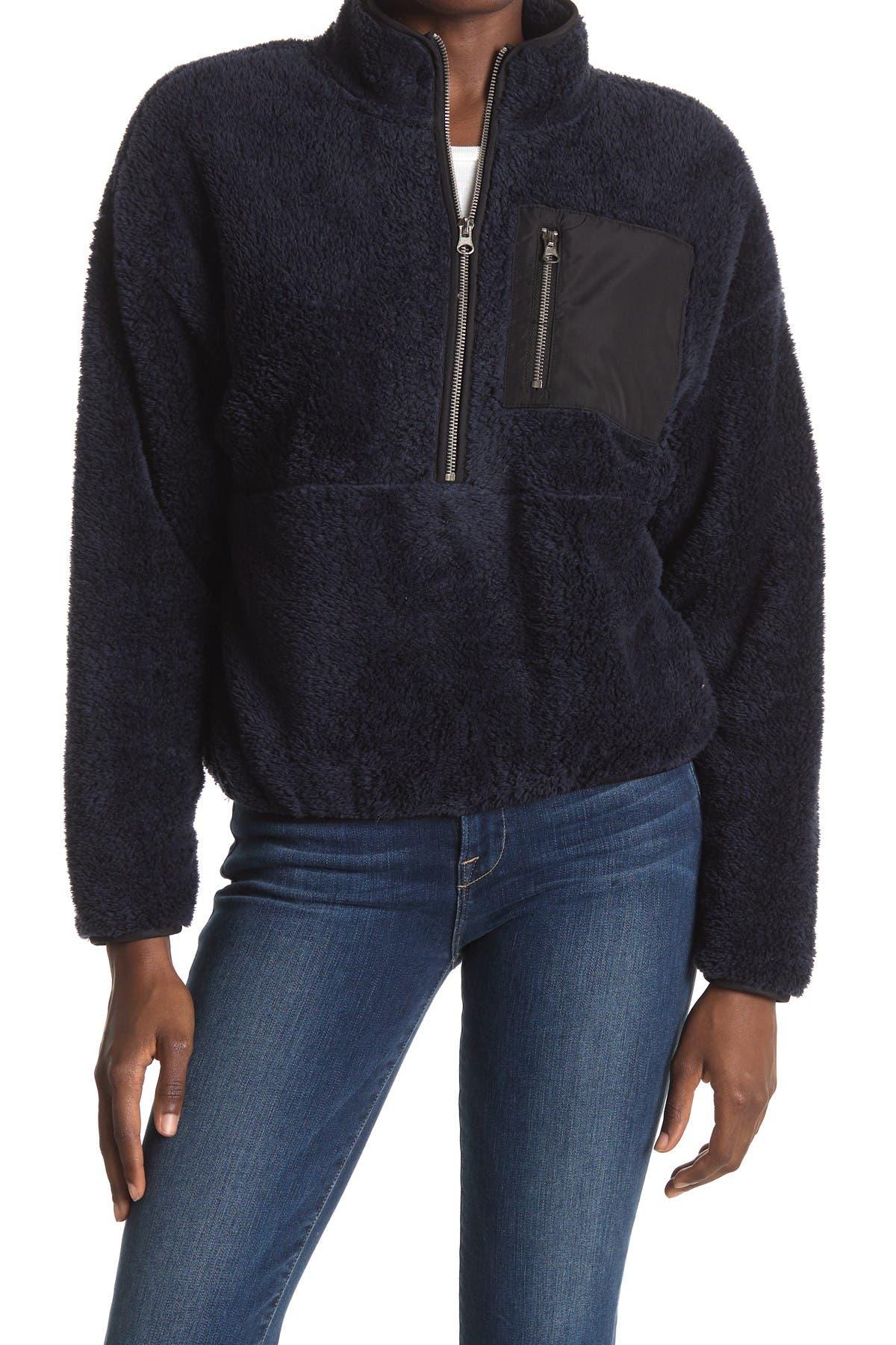 Image of Elodie Plush Fleece Half Zip Pullover