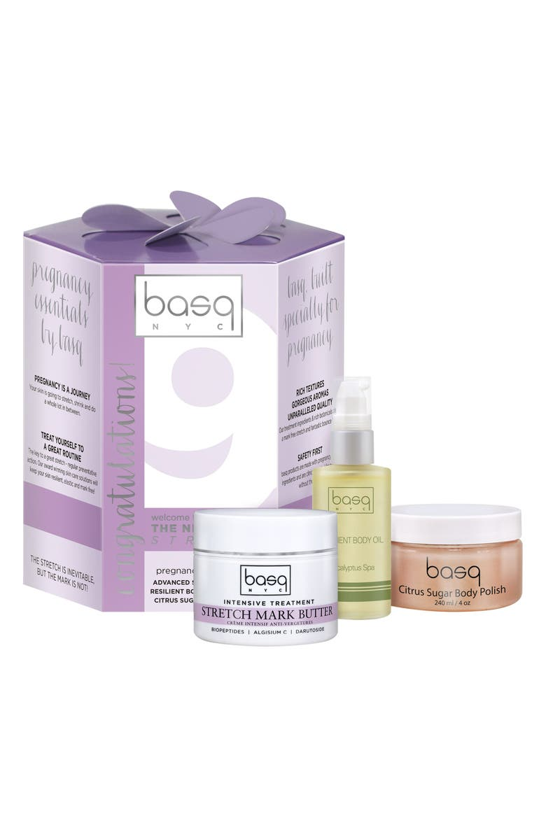 BASQ NYC 9 Month Stretch Essentials Kit, Main, color, WHITE