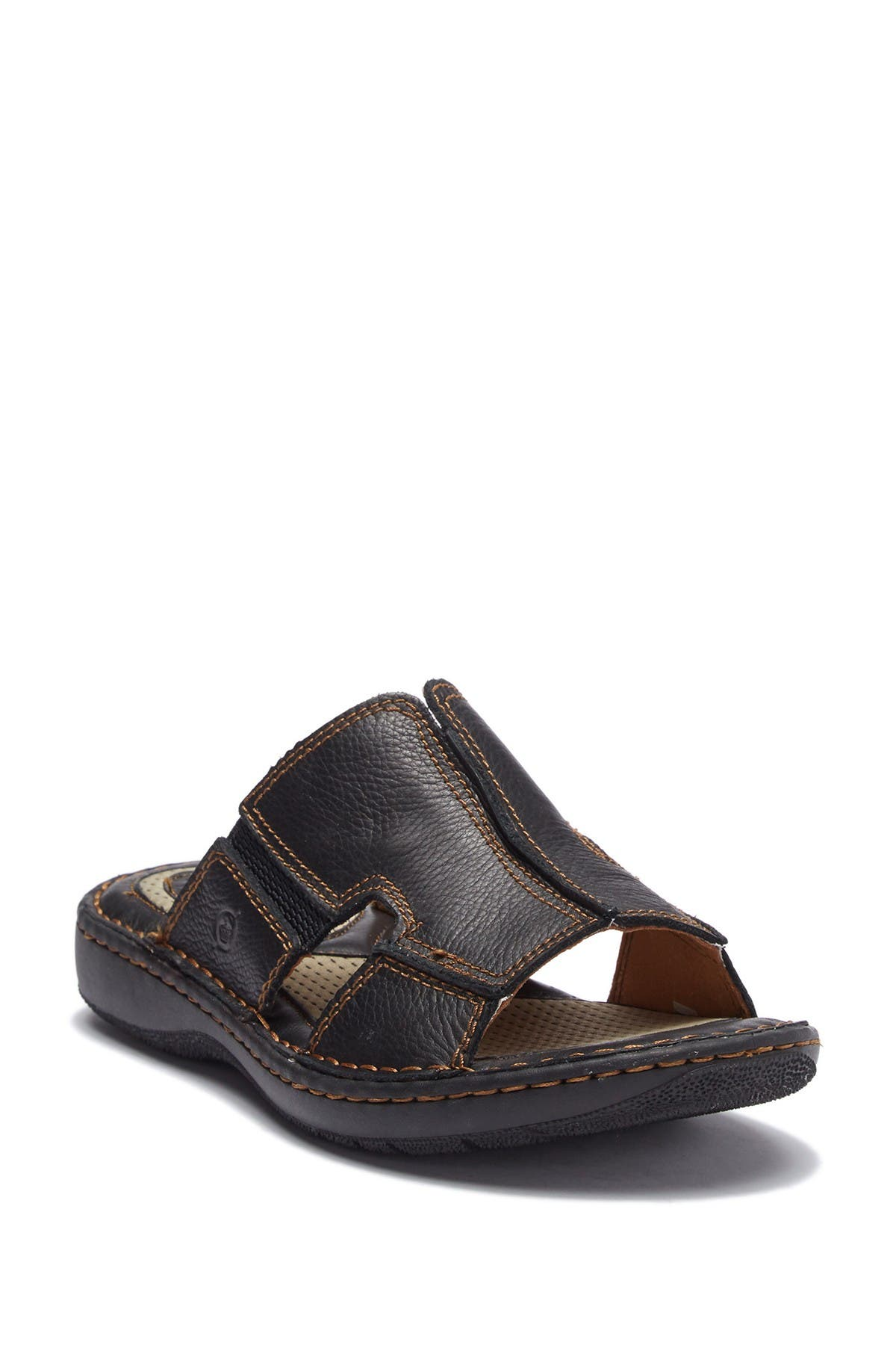 Image of Born Robert Leather Slide Sandal